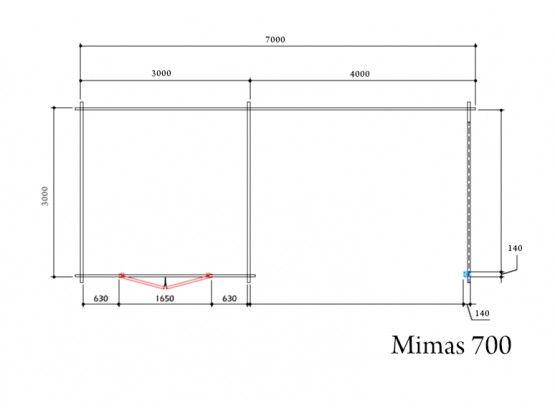 Mimas 700