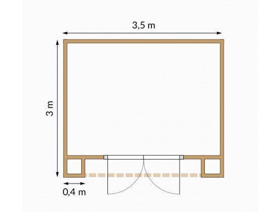 Villon 10,5 m²
