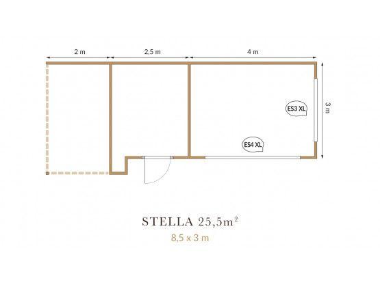 Stella 25,5 m²