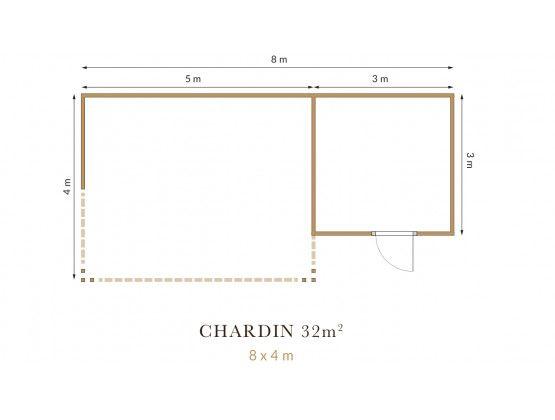 Chardin 32 m²