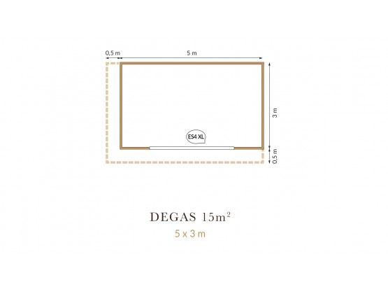 Degas 15 m²