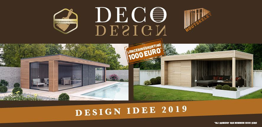 Lanceringsactie tot 1000 euro Deco design Chalet Center
